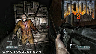 Doom 3 is a 2004 horror first-person shooter video game developed by id Software and published by Activision. Doom 3 was originally released for Microsoft Windows on August 3, 2004, adapted for Linux later that year, and ported by Aspyr Media for Mac OS X in 2005.
