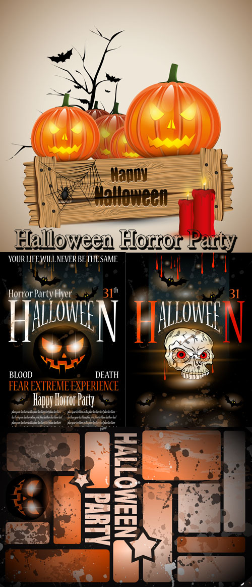 Stock: Halloween Horror Party