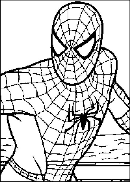 Spiderman Color Pages Spider Man Coloring Page Free Printable Spiderman  Coloring Pages Images