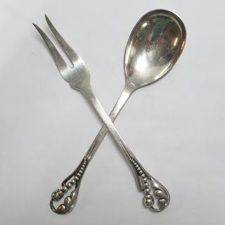 E&M Sterling Silver Serving Set