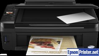 Reset Epson TX220 inkjet printer with application