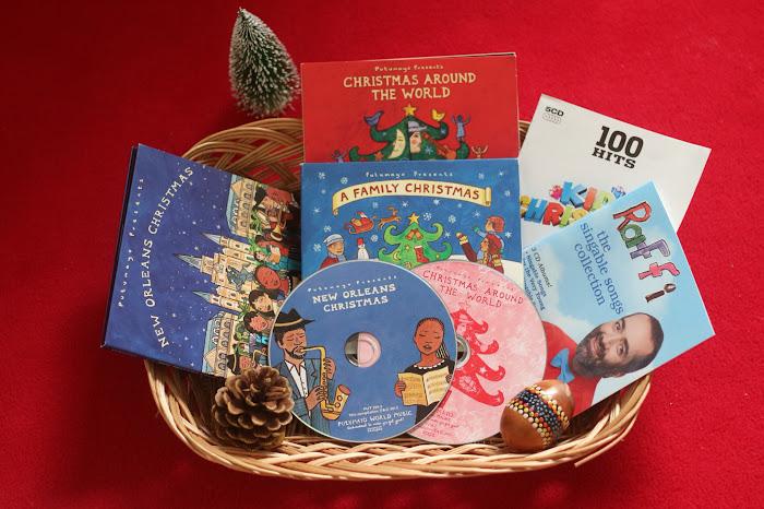 Christmas music, Christmas CDs, Montessori music, Christmas Montessori, Putumayo music Christmas,