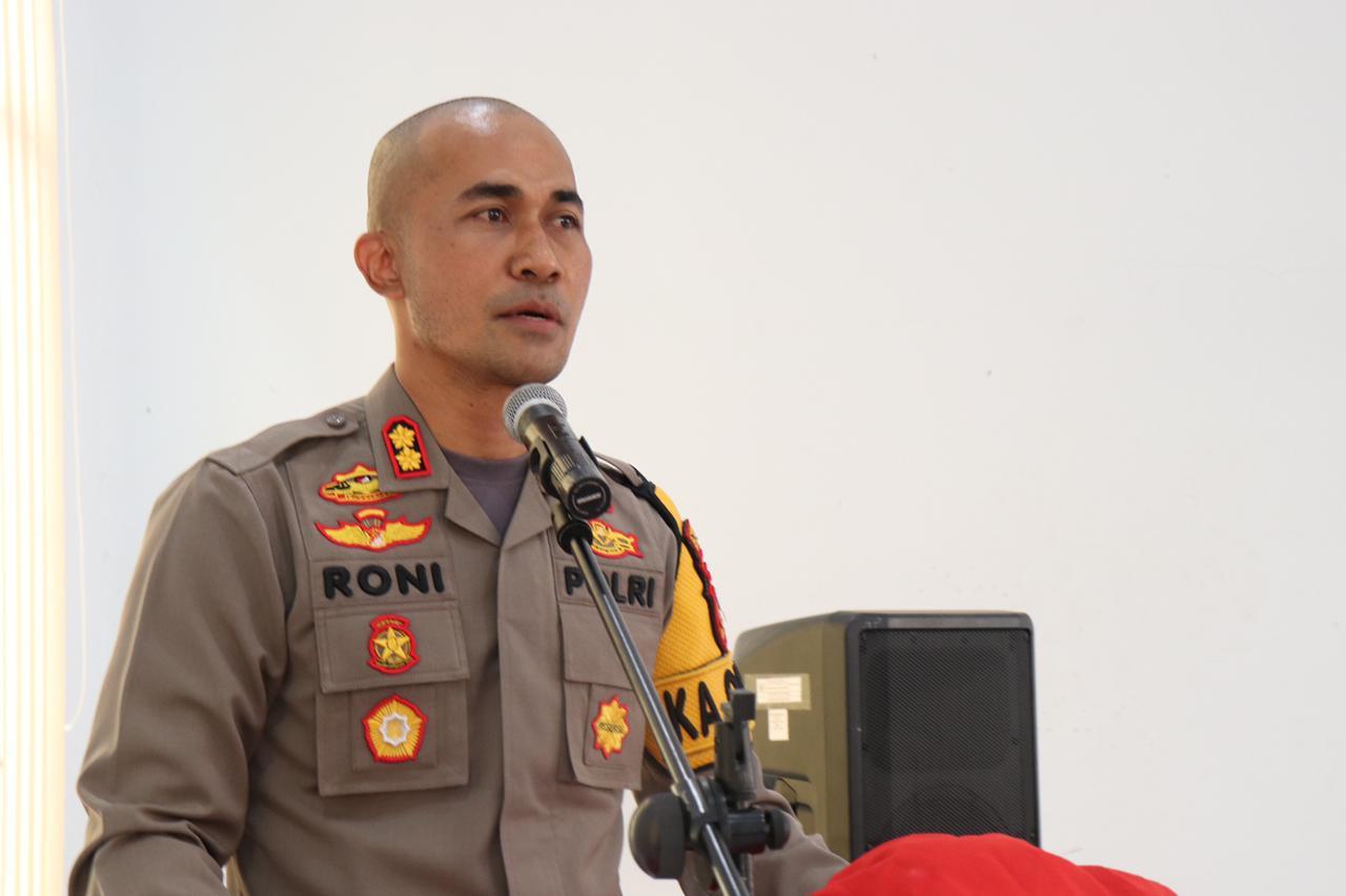 Kapolres Soppeng Gelar Tatap Muka Di Kecamatan Marioriwawo