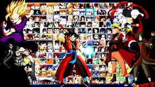 SAIU! MUGEN NARUTO VS BLEACH 220+ CHARACTERS (LOLI TEAM VS UCHIHA TEAM)  PARA CELULAR ANDROID