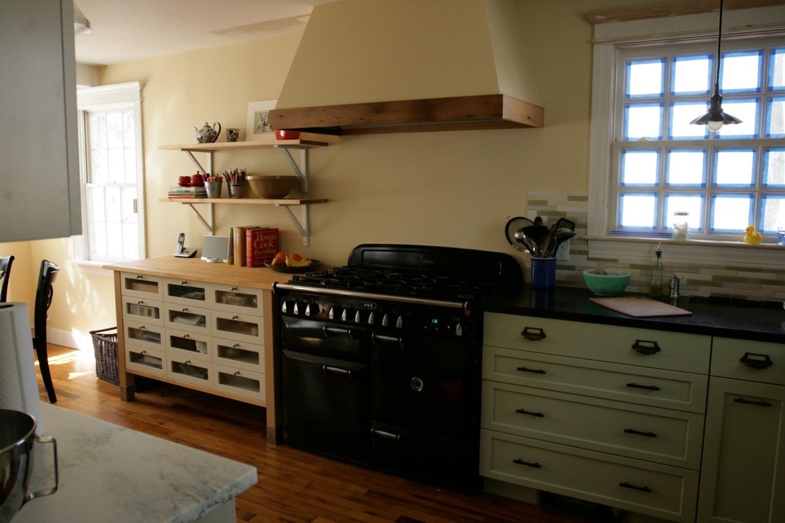 White Kitchen Hood