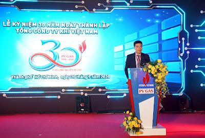 TGĐ PV GAS phát biểu kêu gọi tinh thần đoàn kết và nỗ lực vươn lên của toàn thể PV GAS