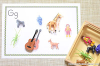 Beginning Sounds Through Language Objects