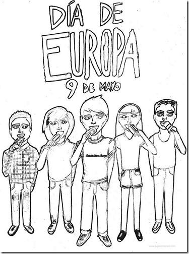 comunidad europea colorear (2)