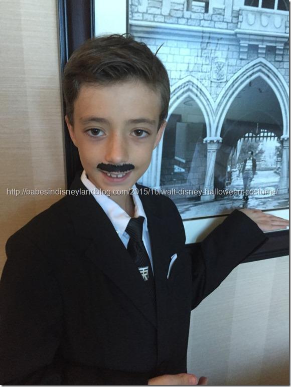 disfraz de walt disney para niño