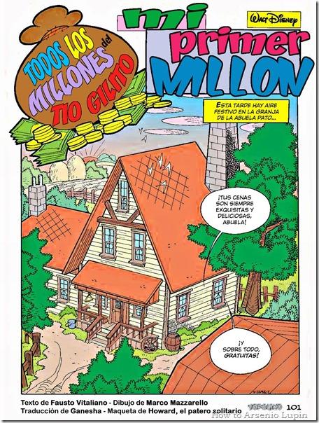 Todos los millones del Tio Gilito  - Mi primer millon #1 - página 1
