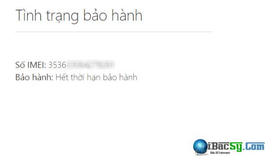 Hướng dẫn kiểm tra hạn bảo hành cho Windows Phone - Check IMEI + Hình 5