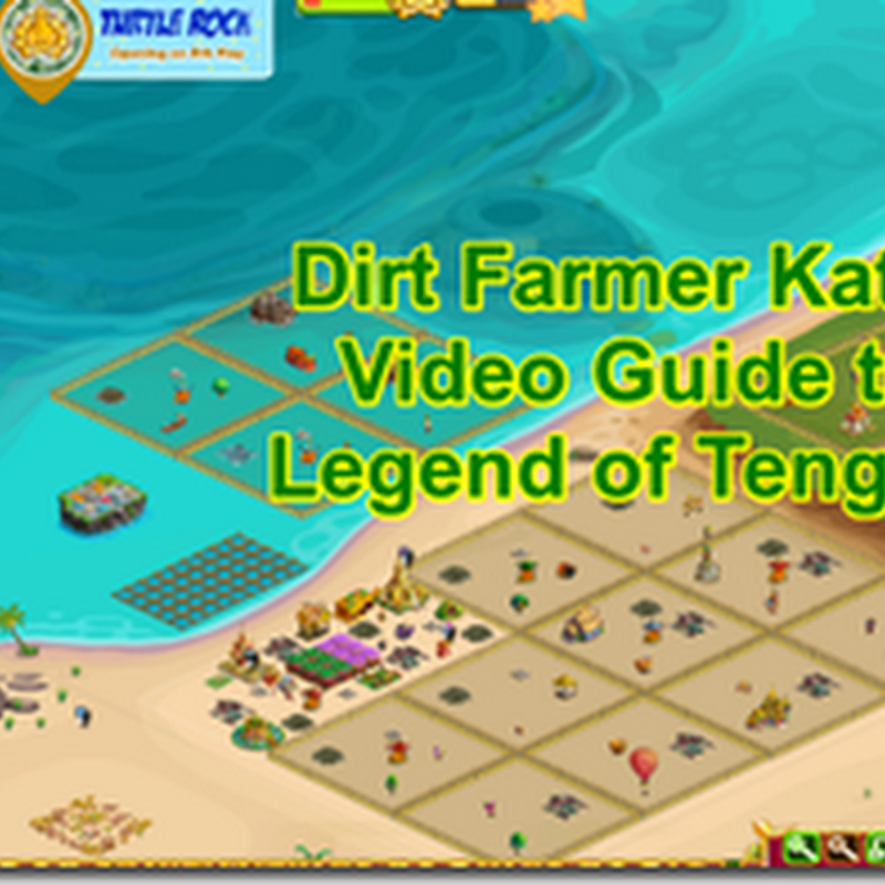 Farmville Legend of Tengguan - A Video Guide