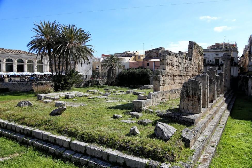 Syrakuzy, Ortygia, Tempio di Apollo, Świątynia Apollina