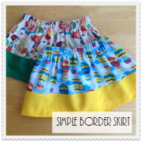 Simple Border Skirt