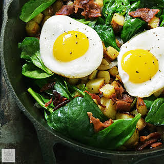 Skillet Breakfast Potatoes.