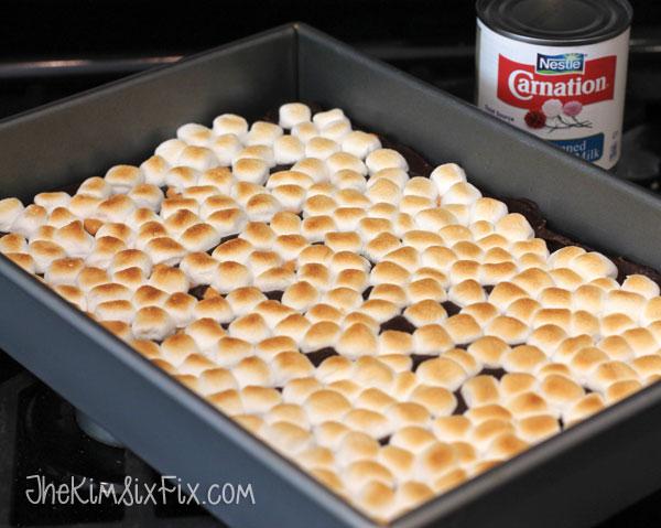 Toasted Marshmallow Smores