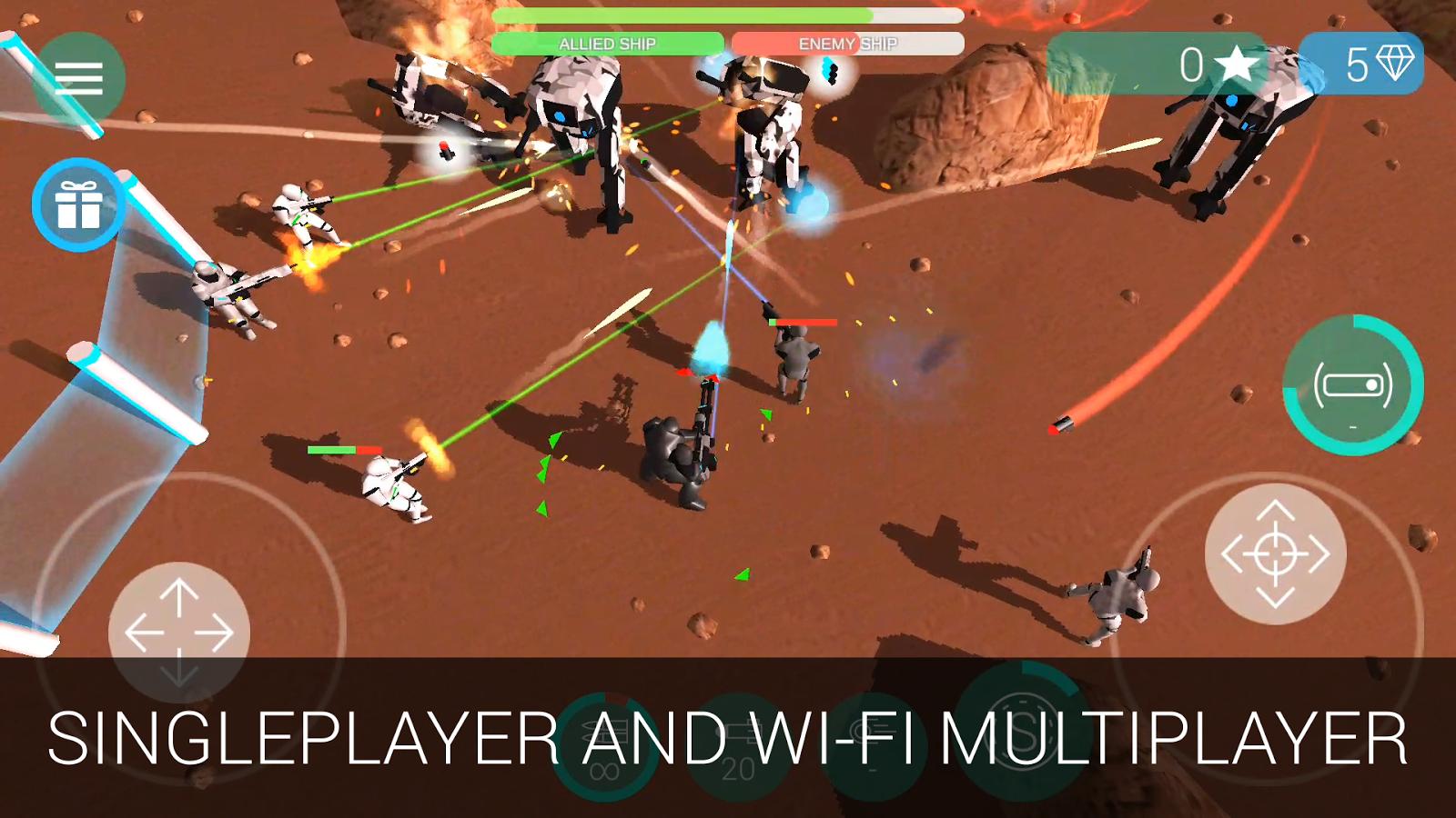 CyberSphere: Sci-fi Shooter- screenshot