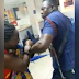 VIDEO : Police Officer Spotted Beating A Nursing Mother