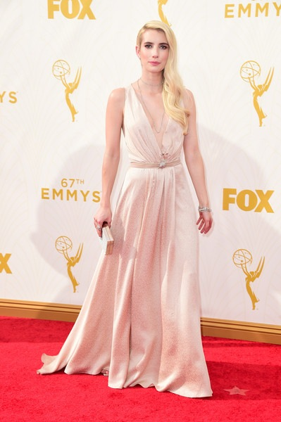 Emma Roberts attends the 67th Annual Primetime Emmy Awards
