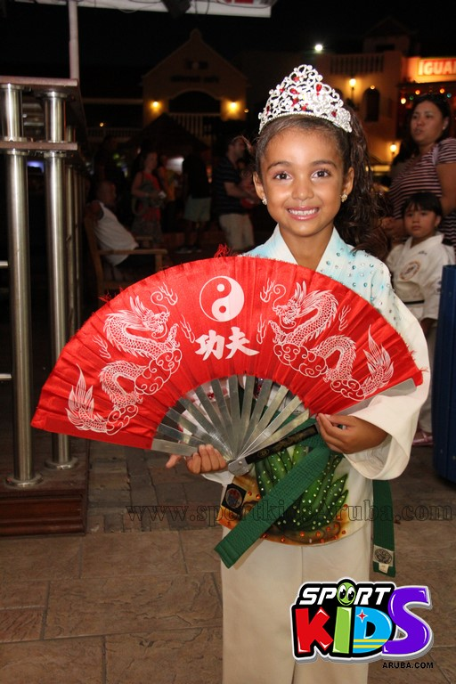 show di nos Reina Infantil di Aruba su carnaval Jaidyleen Tromp den Tang Soo Do - IMG_8810.JPG