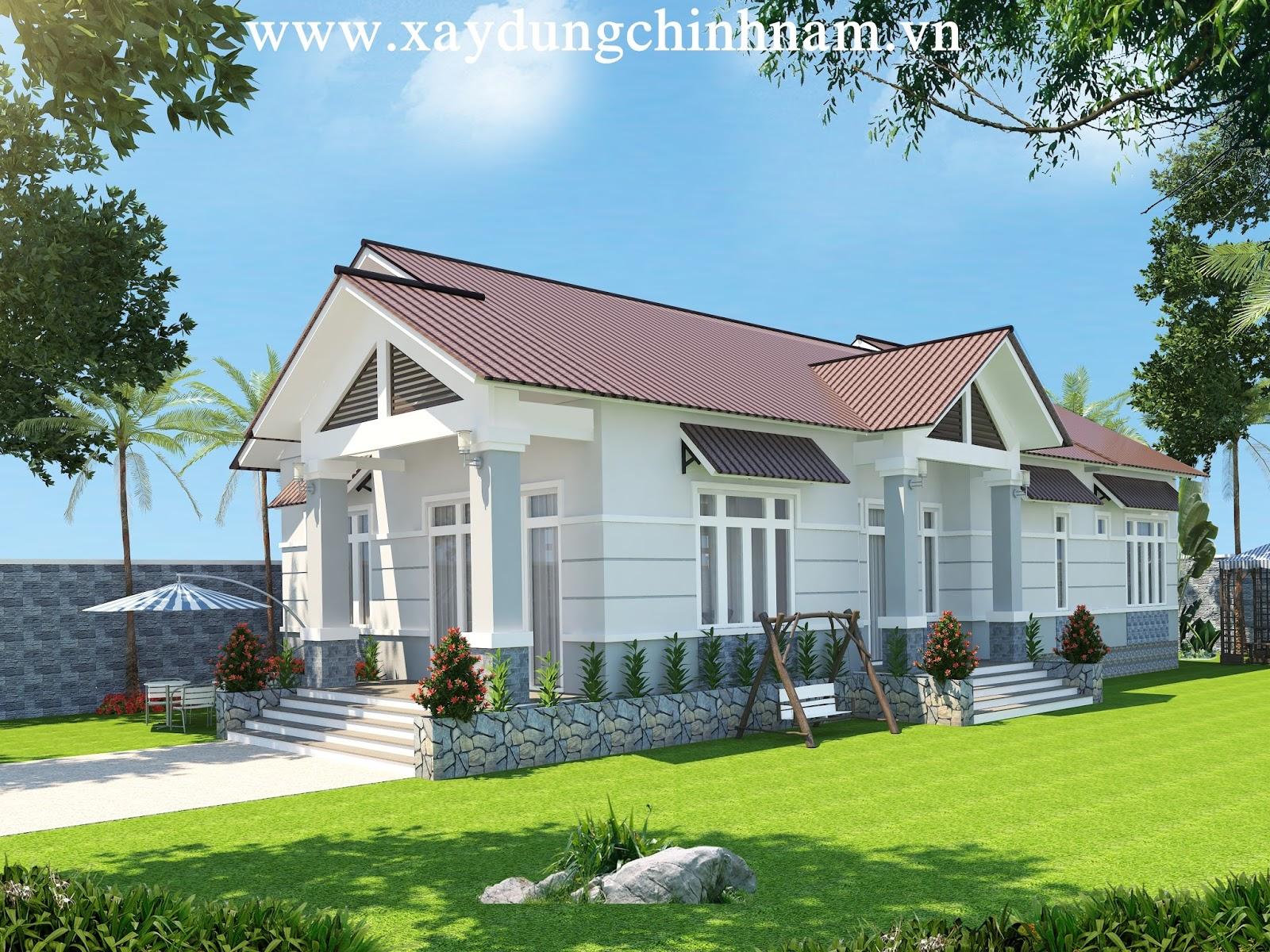 Thiết kế nhà chú Nho ở Biên Hoà