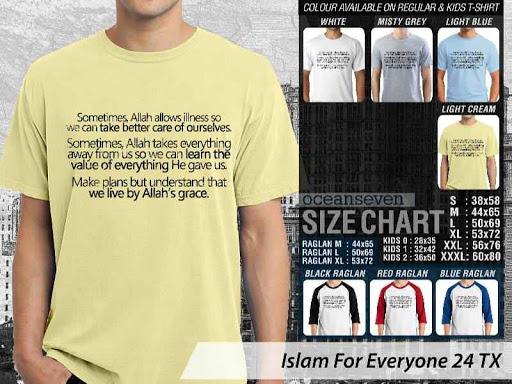 Kaos Distro Islami For Everyone 24 distro ocean seven