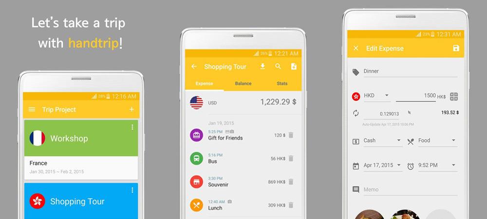 Apps de viagem Handtrip