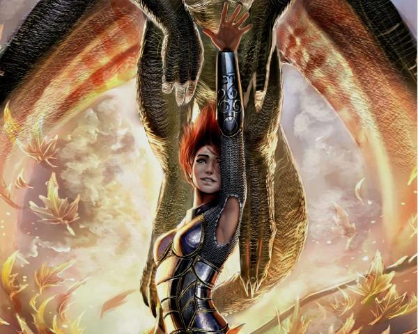 Fiery Dragon Lady, Spirit Companion 1