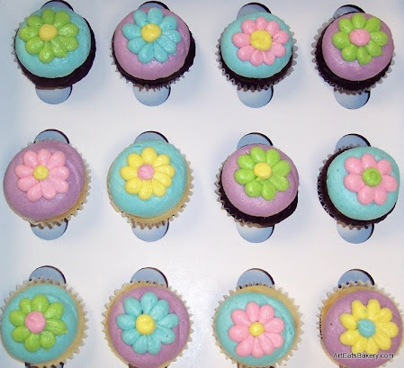 Cupcakes - showers, birthday and holidays - Art Eats Bakery