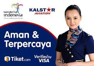 cari tiket pesawat promo dan murah maskapai kalstar