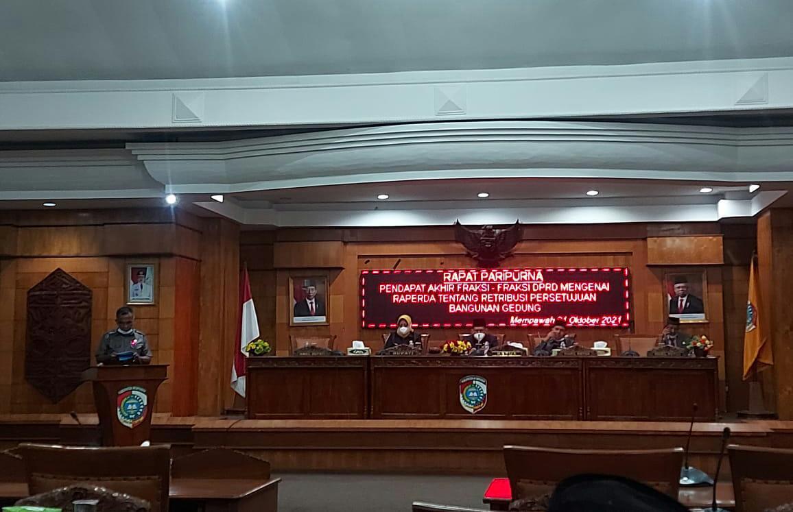 Fraksi Nasdem DPRD Mempawah Wajib Memberikan Persetujuan Bangunan Gedung