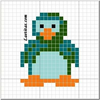 punto de cruz animales aves  (11)