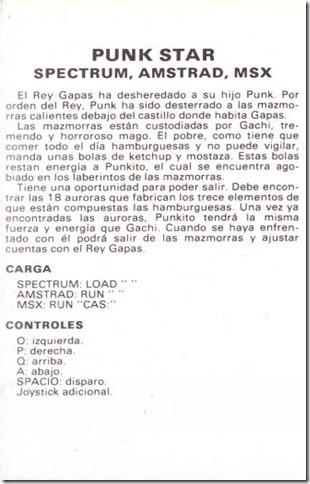 PunkStar manual