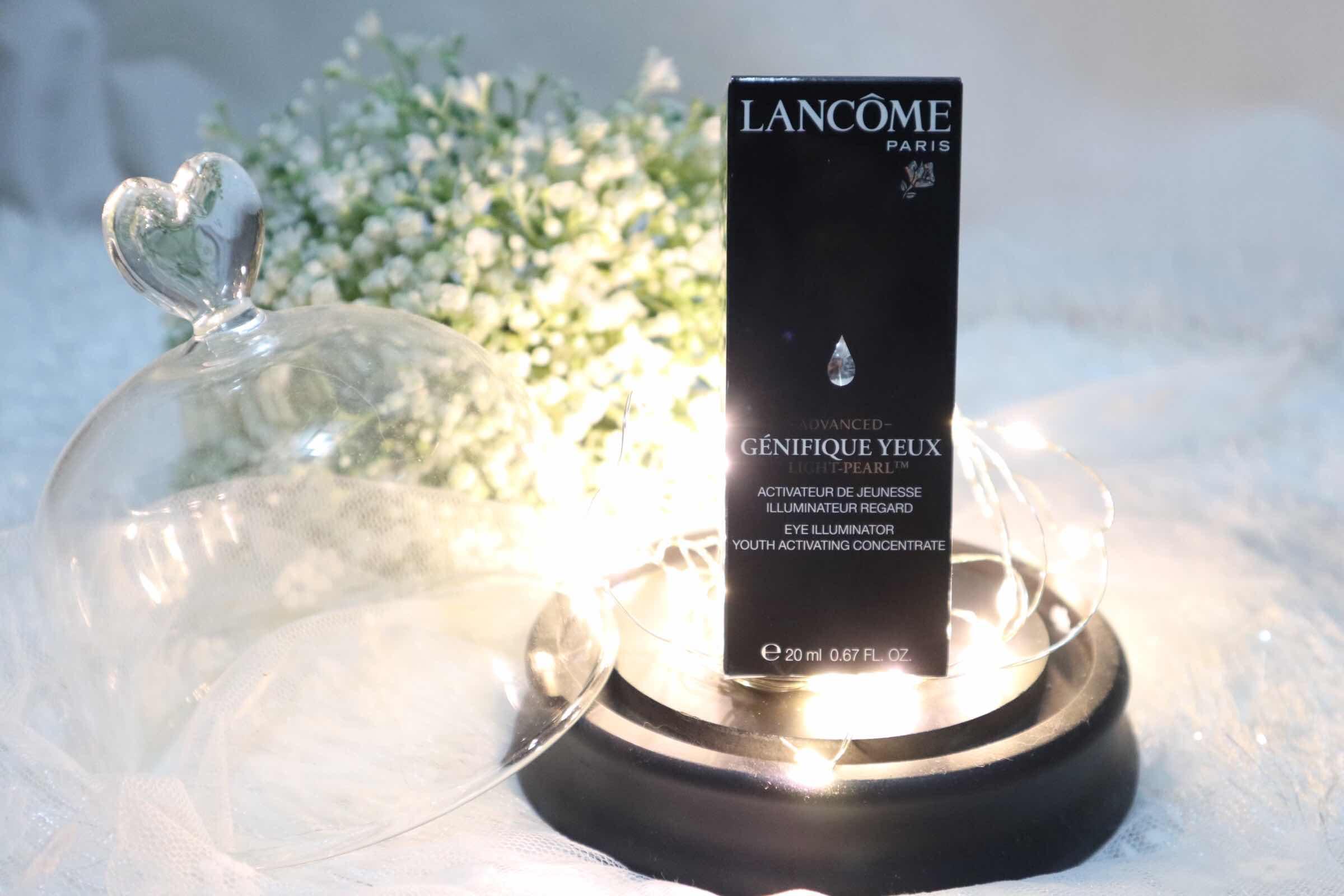 踢走疲倦的眼睛 ~ Lancôme Advanced Génifique Yeux Light-PearlTM 升級版冰鑽亮眼 ...