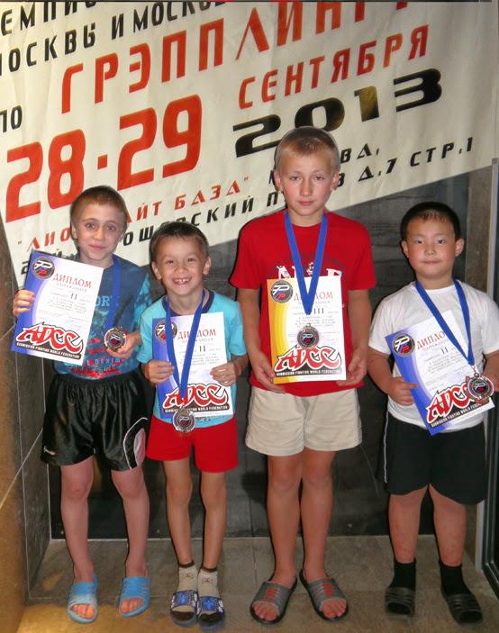 Угличане победители Чемпионата Москвы и Московской области по грэпплингу