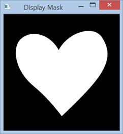 imagen binaria máscara