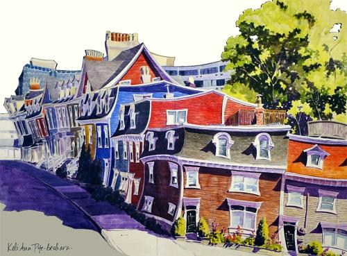 Wedding Corner. Newfoundland Artist Keli-Ann Pye-Beshara
