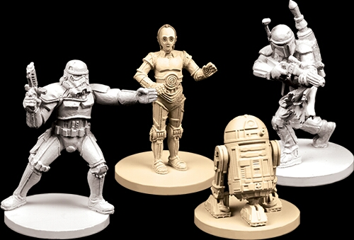 miniaturas de la wave 2 Imperial Assault y sus expansiones