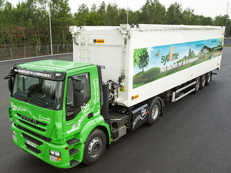 Iveco Stralis Natural Power (CNG) jako ciągnik siodłowy