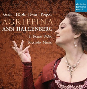 CD REVIEW: AGRIPPINA - Baroque Opera Arias (deutsche harmonia mundi 88875055982)