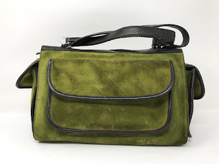 Suarez Suede Handbag