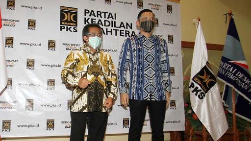 AHY Bertemu Sohibul Iman, Bahas Koalisi PKS-Demokrat di Pilkada 2020.