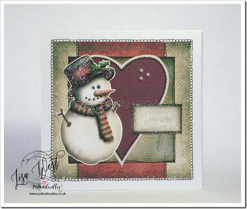 Festive Snowman (4)