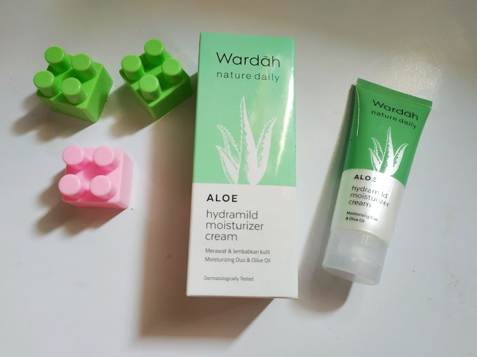 [Review] Wardah Nature Daily Aloe Hydramild Moisturizer Cream