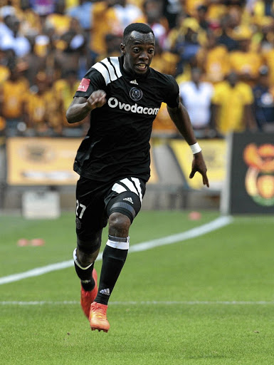 Justin Shonga of Orlando Pirates.