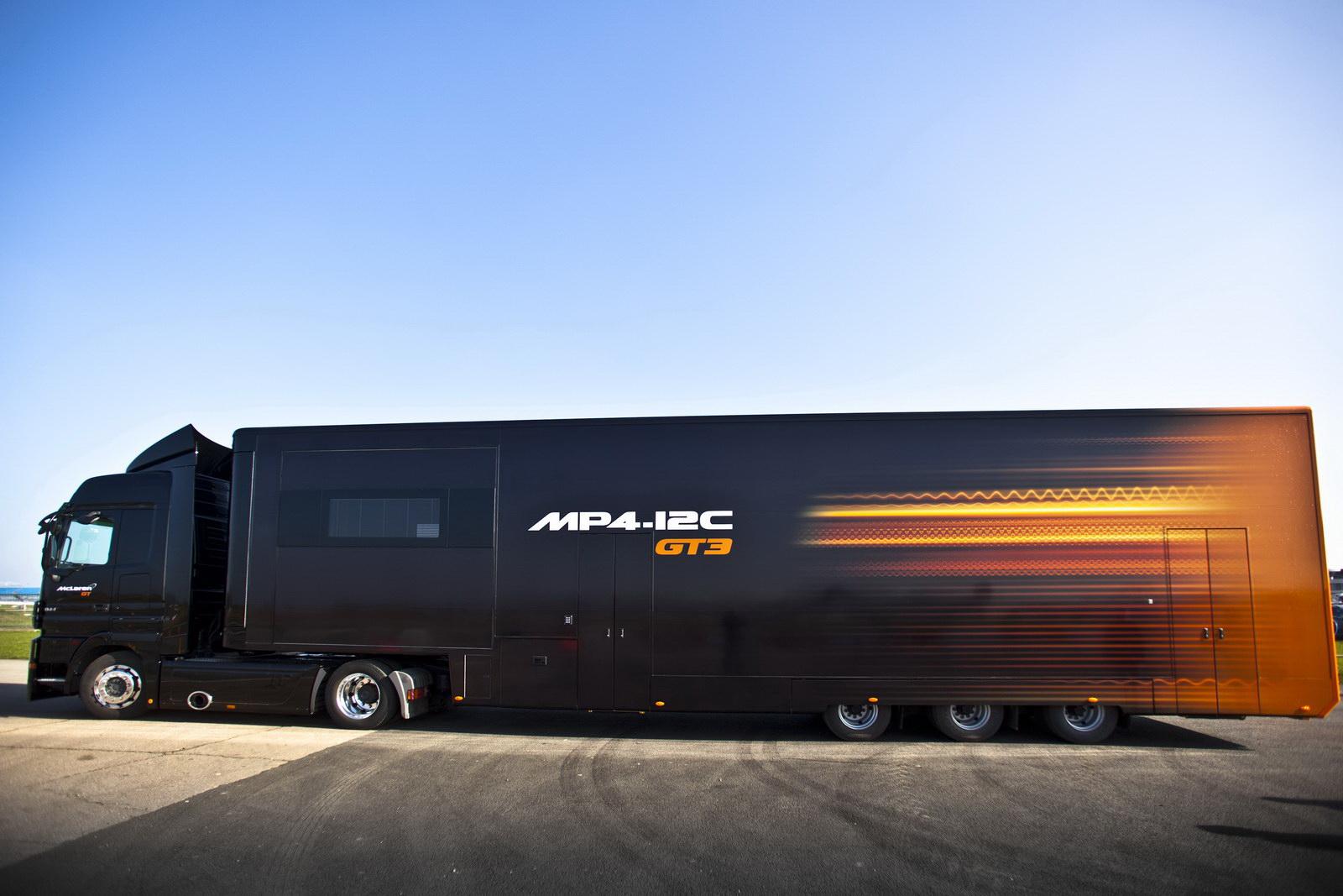 Cars, Trucks, SUVs & Accessories: McLaren\'s MP4-12C GT3