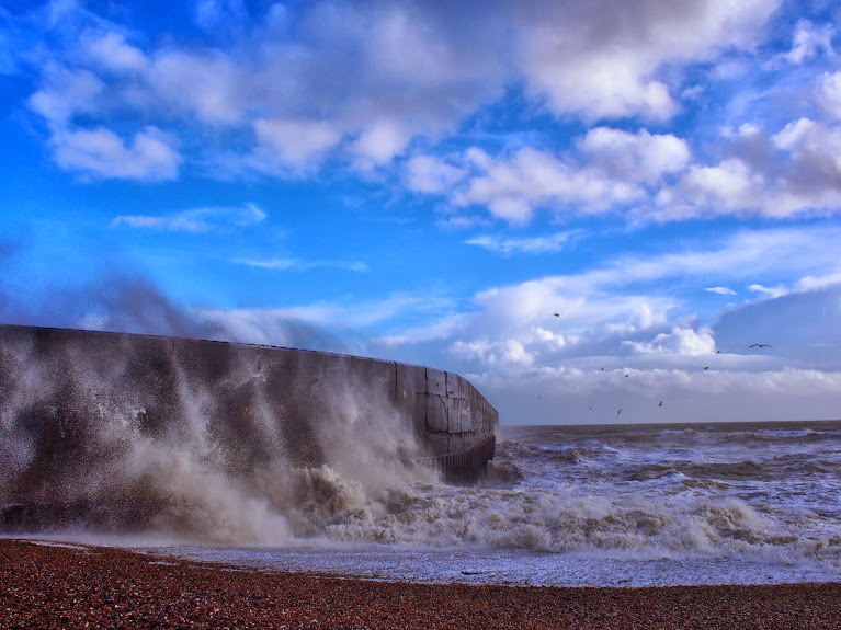 shoreham storms 2014 UK