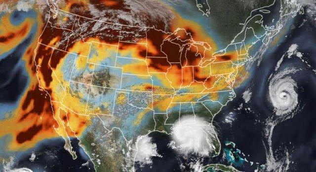 Nasa News - Smoke and Storms on the earth