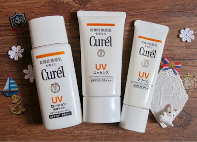 [護膚] 夏日親膚之選 ❤️ Curel水潤透薄的防曬體驗