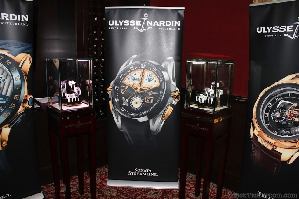 Ulysse Nardin Boca Raton Boutique Capital Grille Dinner 8631